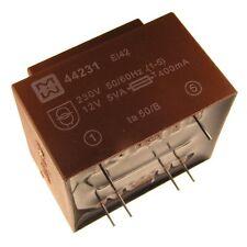 myrra MY44231 Trafo 230V Printtrafo 5VA 12V Netztrafo Transformator 107733