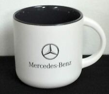 Genuine Mercedes Benz Lifestyle Collection White Ceramic Mug FREE SHIPPING