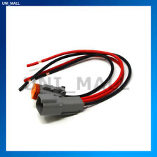 Deutsch DT 2-Pin Pigtail Kit, 16AWG Marine Boat RV Tinned Wire 600V, Made in USA