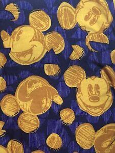 NWT LuLaRoe Disney Leggings One Size OS Mickey Mouse Scribble Polka Dot 201127