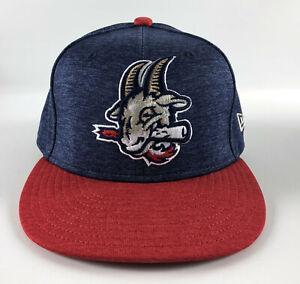 Hartford Yard Goats New Era 59Fifty Baseball Hat - Red & Blue - Size 7 1/2