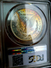 ☆ MEGA RAINBOW☆~ PCGS 1888-O MS-64 MORGAN DOLLAR AWESOME RAINBOW COLORS