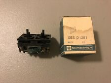 NEW IN BOX TELEMECANIQUE CONTACT BLOCK XES-D1281