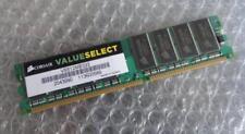 Mémoires RAM DDR SDRAM Corsair pour ordinateur pour DIMM 184 broches