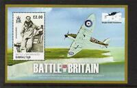 GIBRALTAR MNH 2010 70TH ANV OF BATTLE OF BRITAIN – ACES MINISHEET
