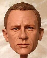 1:6 Custom Head Daniel Craig as James Bond in Skyfall