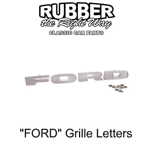 """1973 - 1977 Ford Truck """"FORD"""" Grille Letters"""
