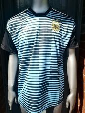 Authentic adidas Argentina Pre Match Football Jersey Shirt. Large. Parley.