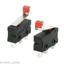 3pcs Micro Switch Mechanical End Stop For Reprap 3D Printer/CNC/DIY