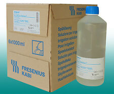 Ampuwa 6x1000ml Plastipur Aqua Sterilwasser steriles Wasser Fresenius