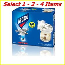 Aroxol Mosquito Insect Repellent Plug in for Both Liquid & Mat Tablets 3refils