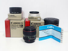 Canon new FD FDn 50mm 1.2 L + Box - fully tested 50 (A7, m4/3, Fuji X) - #21139