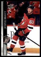 2020-21 UD Series 2 Base #361 Jesper Bratt - New Jersey Devils