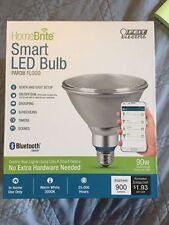 FEIT HomeBrite Bluetooth PAR38 Smart LED Flood Light Bulb
