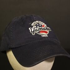 Yamaha American Flag Dad Hat Cap Strapback Blue Red Adjustable