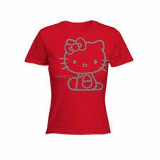 Hello Kitty Rossa M  T-Shirt Maglietta Originale Sanrio