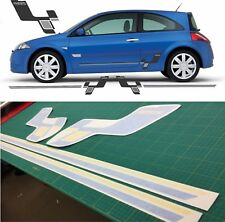Renault Megane MK2 225 Sport Side R26R Style stripes decals stickers graphics