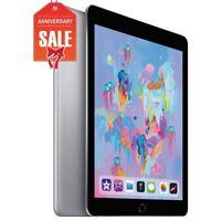 Apple iPad 6th Gen. 32GB, Wi-Fi + Cellular (Unlocked), 9.7in - Space Gray (R-D)