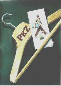 Original vintage poster PKZ SWISS MENS FASHION STORE 1939 Leupin