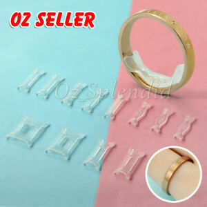 12x Invisible Tightener Ring Size Reducer Resizing Adjuster Pad Jewellery Tools