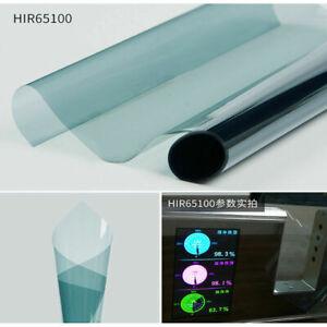 65%VLT Light Blue Auto car home Window Film 99%UV proof Nano Ceramic solar tint