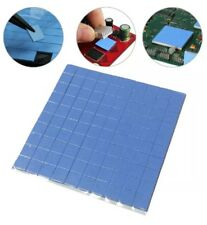 100pcs 10mmx10mmx1mm Microchip Heatsink Cooling Thermal Conductive Silicone Pads