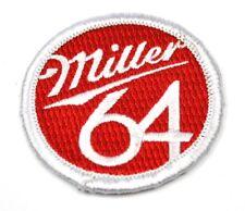 Miller 64 BIRRA USA Mend FERRO Toppa Emblema PATCH RICAMATO STOFFA Adesivo