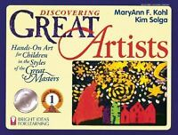 Discovering Great Artists: Hands-On Art for Children in the Styles of the Great