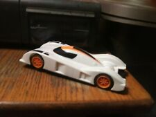 1/32 Hornby White Slot Car plus decals Used