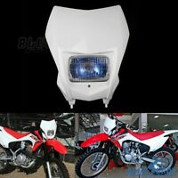 Motocross Dirt Bike Front Headlight Fairing For Honda CRF150F CRF230F 2015-2020