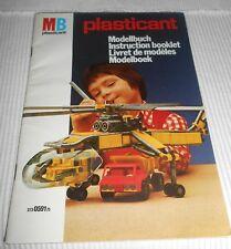 Vintage - Weichcoverbuch MB plasticant Modellbuch von 1975