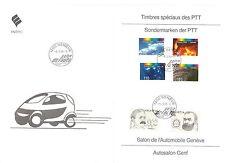 Schweiz,1998 Schmuckblatt mit Ersttagsstempeln, Ganzsache, Michelwert € 25