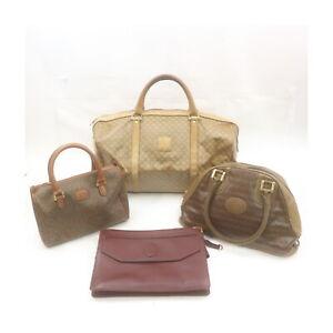 Cartier Mario Valentino Garavani PVC Leather Hand Bag Clutch 4 pieces set 525486