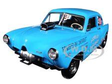 """1951 KAISER HENRY J GASSER BLUE """"HORRID HENRY"""" 1/18 DIECAST MODEL SUNSTAR 5107"""