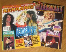 KERRANG Magazine no 470 Aerosmith Genitorturers Soundgarden Death Metal posters