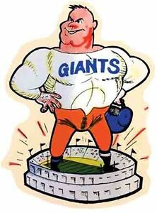 New York Giants  NY  Vintage Looking 1960's  Football NFL  Vintage Decal Sticker