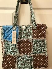 Patchwork quilted purse, shag patch boho purse, tote