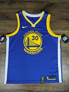 Nike Golden State Warriors Steph Curry Jersey Brand New Size X-Large