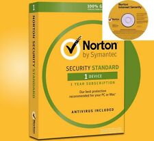 Sealed Norton Security 2018+Antivirus with instalation CD for PC,Mac,Android,iOS