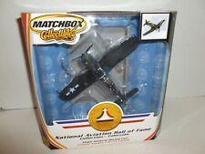 MATCHBOX COLLECTIBLES F4U1A CORSAIR  DIECAST MAJOR GENERAL MARION EARL -1/72