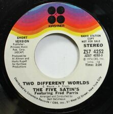 Soul 45 S.Wayne - Two Different Worlds / Two Different Worlds On Kirshner