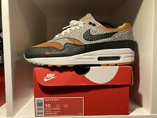 Nike Air Max 1 What The Safari US10 UK9 9/10 Great Condition