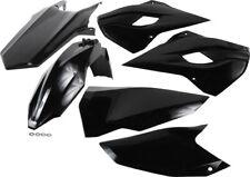 HUSQVARNA TE FE Tx 17-19 RACETECH Completo Enduro Kit Plástico Negro