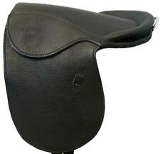 "Med to Lg Rocking Horse-9"" Saddle-Black -NO Billets"
