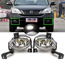 2X LED Lamps FOR Honda CRV CR-V 2010-2011 Front Bumper Fog Driving Light LH + RH
