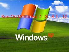 Run Win 95 98 XP GAMES / Progs on Win 7 8 10 Virtual Machine software kit
