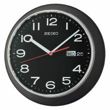 Quartz (Battery Powered) Calendar Plastic Wall Clocks