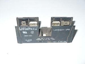 Littelfuse L60030M-1PQ Fuse Holder, 1P, 30A, 600V, Used
