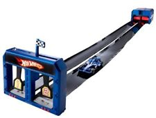 Hot Wheels Indy 500 Roll-Up Raceway Track ~ Racing, Storage & Transporter in one