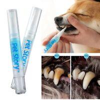 Pet Teeth Cleaning Kit, Dog Cat Tartar Toothbrush, Dental Stone Cleaning Pen